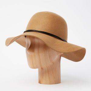 Roots Kelsey Floppy Hat Brown O/S 100% Wool